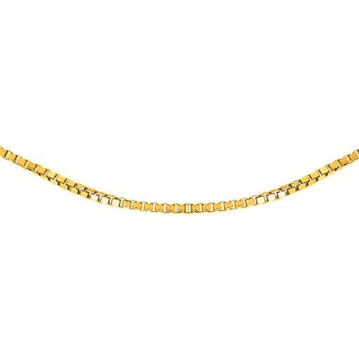 Kedja i 18K guld 40cm