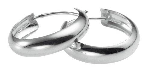 Örhänge styck i äkta silver