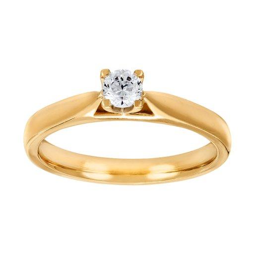 Diamantring i 18K guld 8bbb576a29923