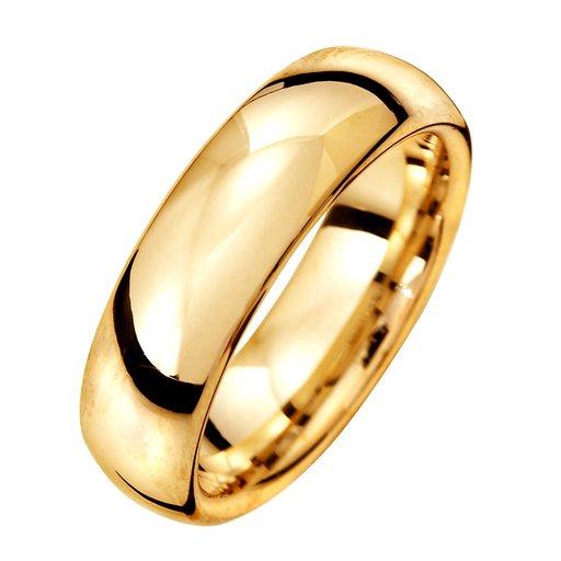 Förlovningsring i 9K guld 6mm, 70