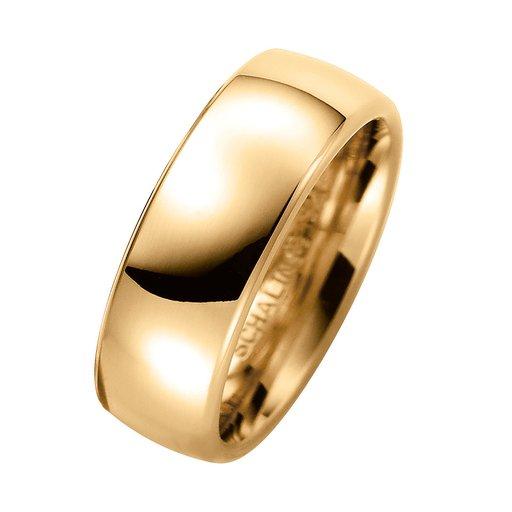 Förlovningsring i 9K guld 7mm, 53