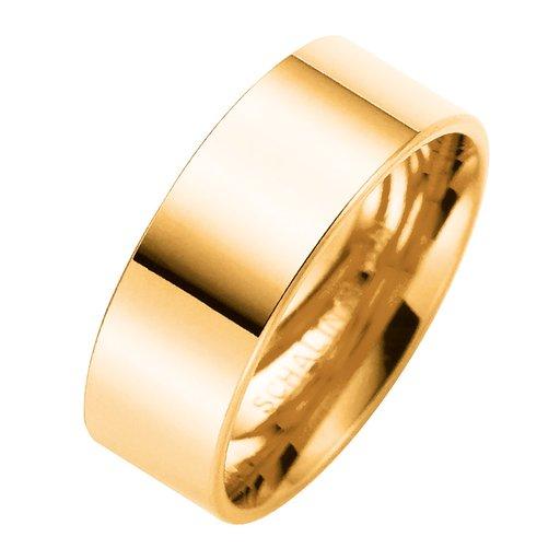 Förlovningsring i 9K guld 7mm, 76