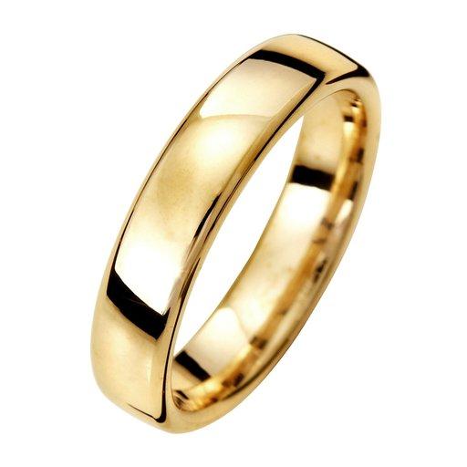 Förlovningsring i 9K guld 4,5mm, 65