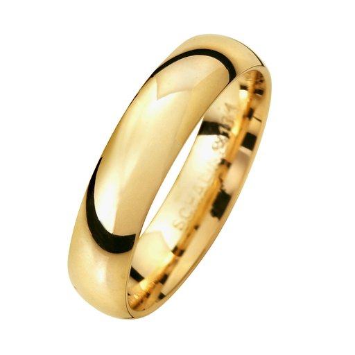 Förlovningsring i 9K guld 4,5mm, 76