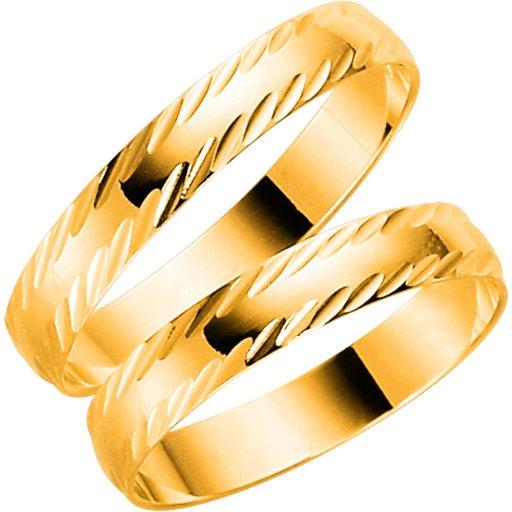Förlovningsring i 18K guld 3,5mm, 76