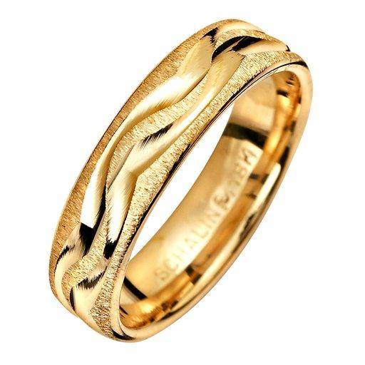 Förlovningsring i 18K guld 5mm, 76