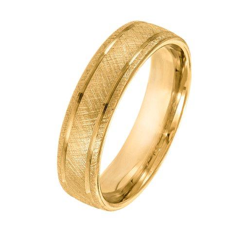 Förlovningsring 18K guld 5mm, 57
