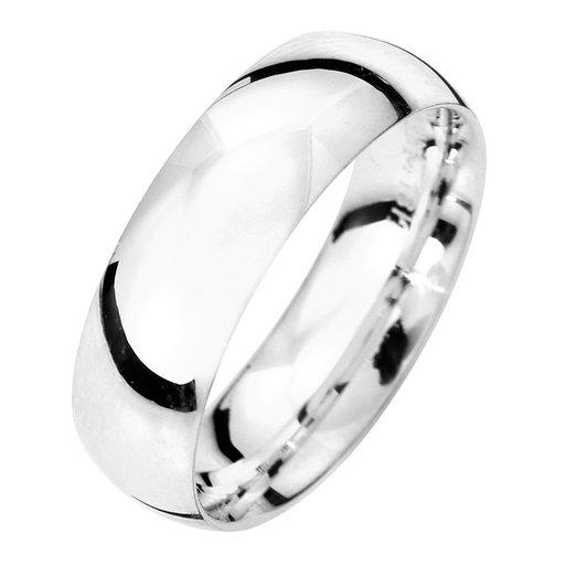 Förlovningsring i äkta silver 6mm, 64