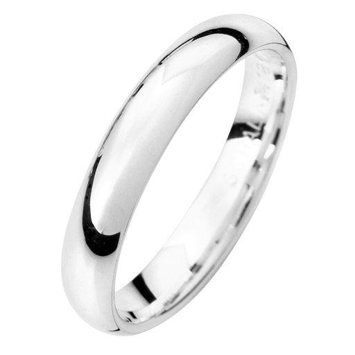 Förlovningsring i äkta silver 3,5mm, 69