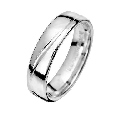 Förlovningsring i äkta silver 7mm, 50