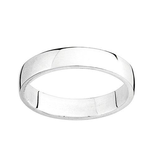 Förlovningsring i äkta silver, 17.0