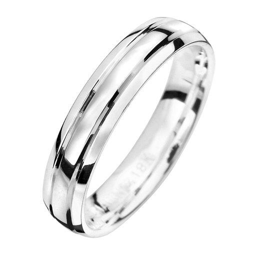 Förlovningsring i äkta silver, 46