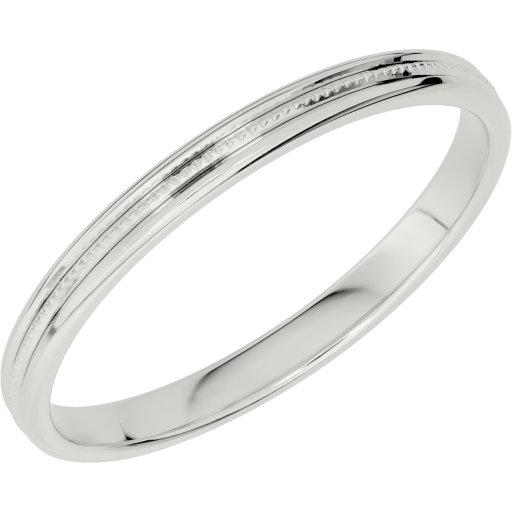 Förlovningsring i äkta silver SCHALINS, 69